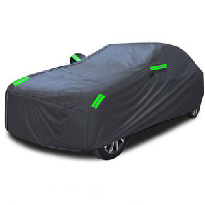 Waterproof Full Auto Car Cover All Weather Snowproof UV Protection Windproof 1PC
