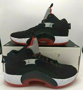 Nike Air Jordan 35 XXXV Bred Black Red Basketball Shoes Men Size 9.5 CQ4227-030