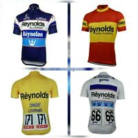 Maillot retro Reynolds campeón España !!!  la vuelta España tour DE FRANCIA