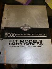 Harley Davidson FLT Modelos Partes Catálogo 2000 - 99456-00 A