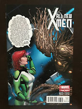 All New X-Men #23 2014 Variant Marvel Comic Book Incentive Jean Grey & Groot