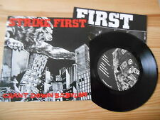 "7"" Punk Strike First - Chant Down Babylon (5 Song) CRUCIAL RESPONSE"