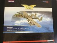 "Corgi Aviation AA38005 1:72 Fairchild  A-10A Warthog ""Jaws"" USAF 57th TTW"