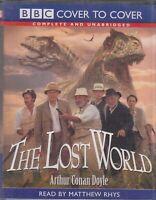 Lost World Arthur Conan Doyle 6 Cassette Audio Book Unabridged Matthew Rhys