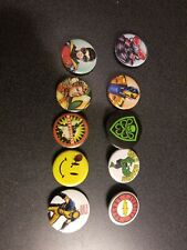 "lot of 10 various Marvel DC superhero 1.5"" pins"