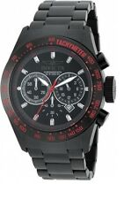 Invicta Men's 19296 Speedway Black Ion-Plated Stainless Steel Bracelet Watch