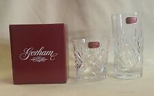 Gorham Monte Carlo Highball Set of 6, or Old Fashioned Set of 3