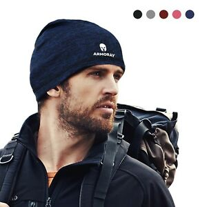 Men Women Sweat Wicking Cap Helmet Liner Skull Caps Head Wrap Beanie
