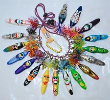 17 Pc Assorted Kooky Kollectible Pens w/Keychain Krew Goofy Yankees Collectible