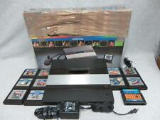 Genuine Atari 5200 2 Port Black Console Bundle + Controller & 11 Games + BOX!