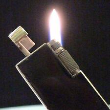 Briquet ancien * CLODION rare en LAQUE Forme Dunhill * Lighter Feuerzeug