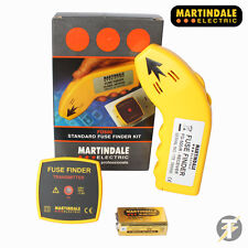 Brand New Martindale FD500 Analog Fuse Finder Receiver and Transmitter Set