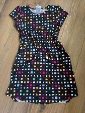 LuLaRoe Mae Dress With Pockets. Hi Low Size 10