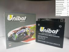 BATTERIA MOTO UNIBAT YTX14-BS GILERAGP8002009 2010 2011 2012 2013