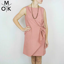 COS Kleid 36/S neu rose Taft Vintage Trend Design Dress Damen(1362a)
