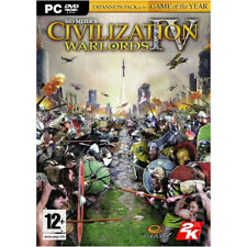 Civilization IV: Warlords Expansion Pack - Sid Meiers - PC CD-ROM - NEW & SEALED
