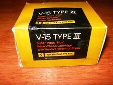 Vintage Shure Super TrackPlus v15 type III Phono Cartridge