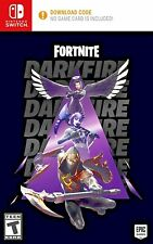 NO GAME CASE ONLY Fortnite Darkfire Bundle For Nintendo Switch Console + Lite 2