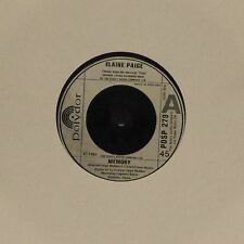 "ELAINE PAIGE 'MEMORY' UK 7"" SINGLE #3"