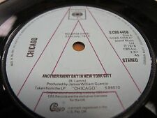 """DEMO CBS 4458 1976 ISLAND MUSIC 45rpm 7"""" CHICAGO """"ANOTHER RAINY DAY.."""" N.MINT"""