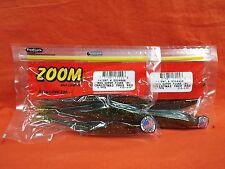10cnt ZOOM Super Fluke Jr #056-177 JuneBug Red 2 PCKS