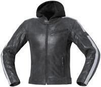 Held Motorradjacke Lederjacke Madison Gr. 54  schwarz-grau Urban Jacke NEU