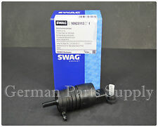 BMW E36 E46 Windshield Washer Pump with GROMMET Z3  SWAG OEM Quality