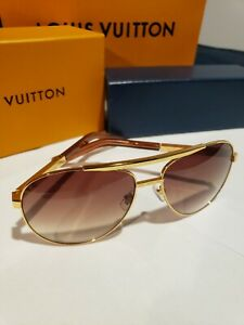 Louis Vuitton Attitude Pilote Sunglasses Z0339U, Authentic