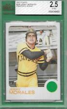 VERY RARE PRINTERS SCRAP PROOF CARD 1973 TOPPS 268 JERRY MORALES BECKETT BVG ABC