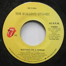 Rock 45 Jogger Richards - Waiting On A Friend / Little T & A On The Rolling Ston