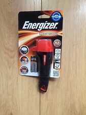 BRAND NEW ENERGIZER IMPACT RUBBER LED TORCH MODEL NO LP55421 C/W BATTERIES
