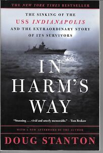 OWL BOOKS, IN HARM'S WAY, SINKING OF THE USS INDIANAPOLIS, USED 2001