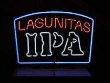 "New Lagunitas IPA India Pale Ale Bar Pub Light Lamp Neon Sign 20""x16"""