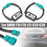 Semi Dynamic Turn Signal Indicator LED Taillight module For BMW F10 F18 LCI   D