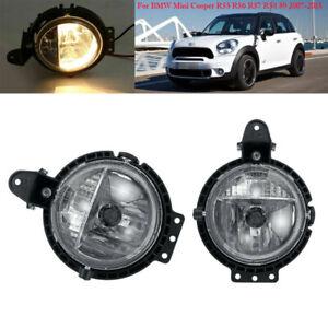 Fog Light For BMW Mini Cooper R55 R56 R57 R58 59 07-2015 Driving Bumper Lamp L R