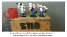 More details for vintage cast iron popeye figures collection x 3