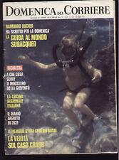 DOMENICA DEL CORRIERE 29/1972 TINA AUMONT ISOLA DEI CAVOLI LAMPEDUSA FARO THULIN