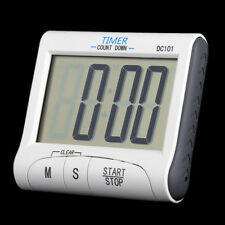 Large LCD Digital Cooking Kitchen Stop Watch Timer Count Down with Alarm