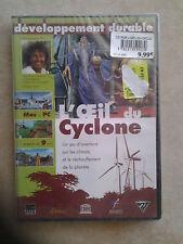 27948//L'OEIL DU CYCLONE JEU D'AVENTURE MAC ET PC NEUF