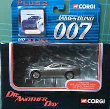 CORGI James Bond Aston Martin V12 Vanquish  Die Another Day. #TY 95201