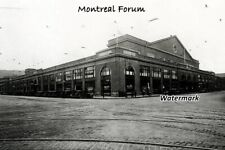 NHL 1920's Montreal Forum Montreal Canadiens Maroons 8 X 12 Photo Free Shipping