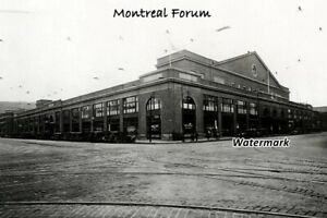 NHL 1920's Montreal Forum Montreal Canadiens Maroons 8 X 12 Photo Picture