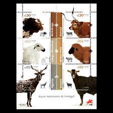 Portugal 2018 - Portuguese Autochthonous Breeds Fauna Animals - MNH