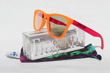 NEW Oakley Limited Edition Frogskins - Blacklight Orange / Pink Iridium, 24-284