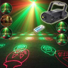 MINI RG Laser 12 Halloween Pattern Projector Dance Disco Bar Party Xmas DJ Light
