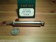 Flintlock Pan Primer 3 grain made by Treso Solid Brass Black Powder Made In Usa