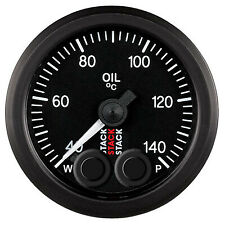 Stack Pro Control Oil Temperature Gauge 40-140degreeC Degrees - Race/Rally/Motor