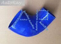 Silicone 90 Degree Elbow Reducer 76mm-102mm 3'' to 4'' Intercooler Hose Blue
