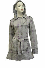 Unbranded Checked Waist Length Coats & Jackets for Women