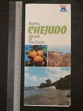 1970's Korea Chejudo Island of Gods travel brochure English